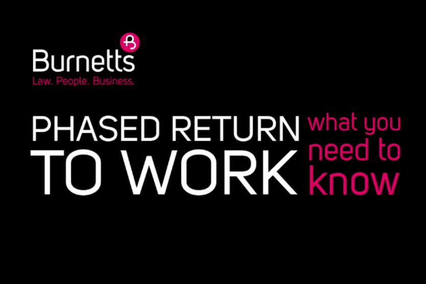 Phased return to work explained (video)