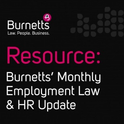 Resource Employment Law & HR Update - April 2019