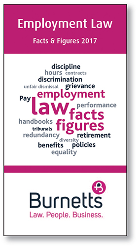 Employment Law Facts and Figures 2017 - Free Guide