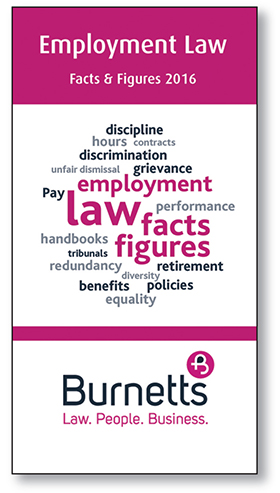 Employment Law Facts and Figures 2016 - Free Guide