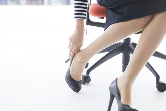 Employee sent home from work for not wearing high heels