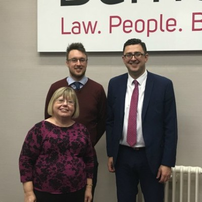 Campaigning solicitor visits Westminster