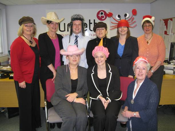 Promoting Hats for Headway