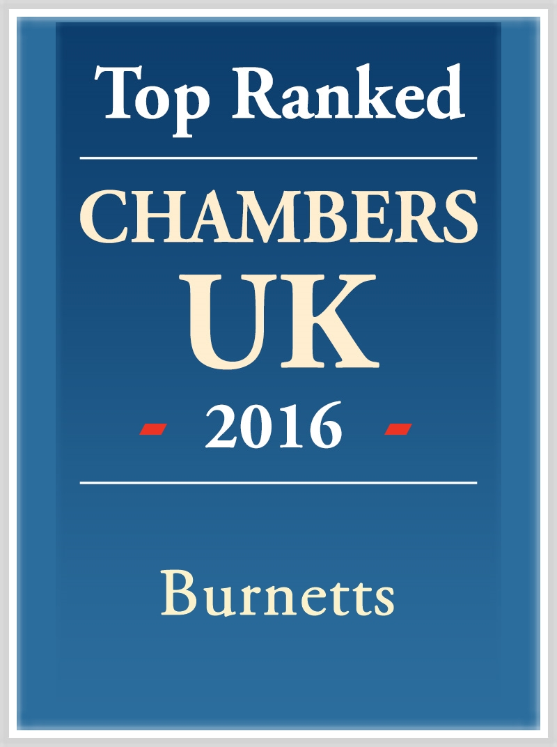 Recognised by Chambers & Partners