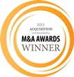 M&A Awards Winner 2013
