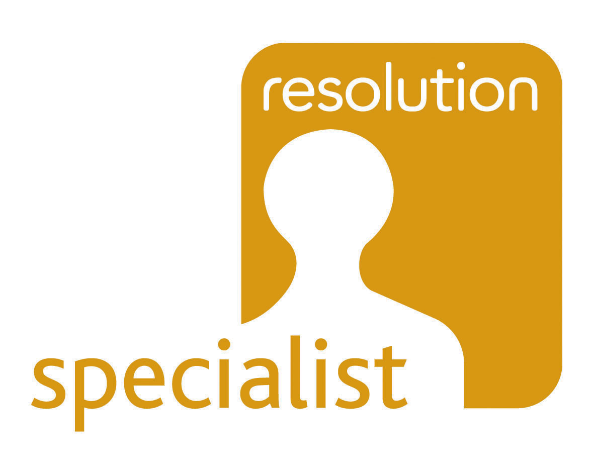 Both Partners are accredited by Resolution